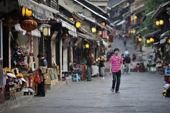 Qingyan ancient Town Royalty Free Stock Photography