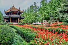 Qingyang Gong temple Chengdu Sichuan China Stock Photography