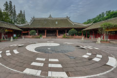 Qingyang Gong temple Chengdu Sichuan China Royalty Free Stock Photography