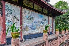 Qingyang Gong temple Chengdu Sichuan China Stock Photography