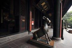 Qingyang-Palast, die Tür Lizenzfreie Stockfotografie