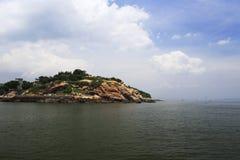 qingyu, une île solitaire Photographie stock