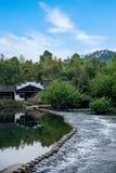 Qingyuan Town, Wuyuan County, Jiangxi Province Royalty Free Stock Images