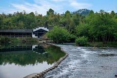 Qingyuan Town, Wuyuan County, Jiangxi Province Royalty Free Stock Photography