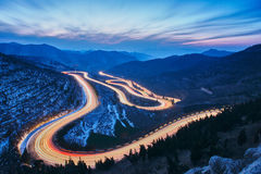 Qingzhou-Kragenhornlandschaft lizenzfreie stockbilder