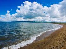 Qinhai Lake royalty free stock photography