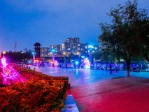 Qinhuai flod i Nanjing arkivbilder