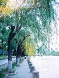 Qinhuai flod i Nanjing arkivbild