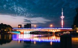 Qinhuai flod i Nanjing fotografering för bildbyråer