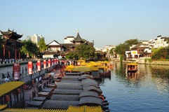 The Qinhuai River royalty free stock photo