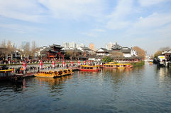 Qinhuai River Nanjing Royalty Free Stock Photography