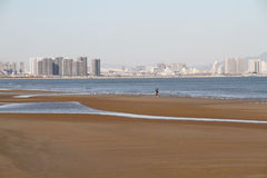 Qinhuangdao Repulse Bay scenery Royalty Free Stock Photo