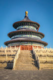 Qinian Hall im Himmelstempel - dem Peking, China Stockbilder