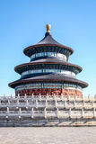 Qinian Hall w świątyni niebo - Pekin, Chiny Obraz Royalty Free
