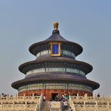 Qiniandian - Hall of prayer for good harvests, the Temple of Heaven, Beijing Royalty Free Stock Photo