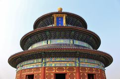 Qiniandian - Hall of prayer for good harvests, the Temple of Heaven, Beijing Royalty Free Stock Images