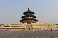 Qiniandian - Hall of prayer for good harvests, the Temple of Heaven, Beijing Stock Photos