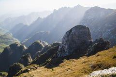 Qinling berg Arkivfoton