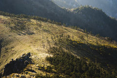 Qinling góry Fotografia Stock