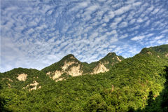 Qinling Mountain Royalty Free Stock Photos