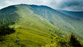 The Qinling Mountain Ridge Stock Photography