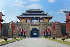 Qins Shihuangs slottport Royaltyfri Bild