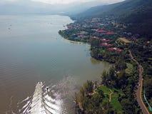 Qionghai湖鸟景色Xichangï ¼的ŒChina 库存图片