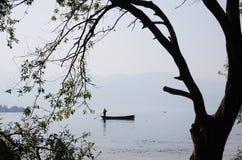 Qionghai jezioro Zdjęcia Royalty Free