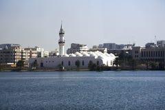 Qishas清真寺在吉达,沙特阿拉伯 库存图片
