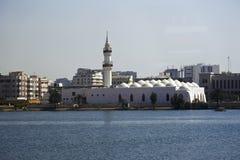 Qishas清真寺在吉达,沙特阿拉伯 图库摄影