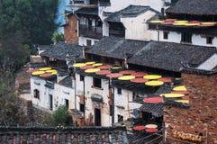 Qiu du soleil de ling de Huang Photo libre de droits