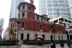 The Qiu Mansion in Shanghai, China Stock Photos
