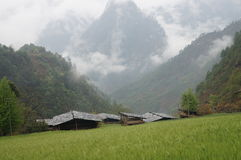Qiunatong village Stock Image