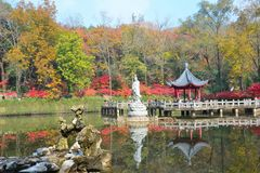 qixia góra w Nanjing Zdjęcia Royalty Free