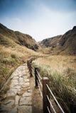 Qixing Mountain at Yangmingshan National Park. Royalty Free Stock Image