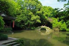 QiYuan Garden in suzhou china Stock Photos
