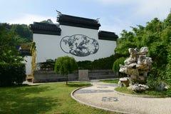 Qiyuan trädgård i Suzhou Arkivfoton