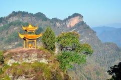 Qiyun mountain Royalty Free Stock Photo
