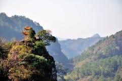 Qiyun mountain Stock Images