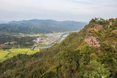 Qiyun mountain landscape Stock Image