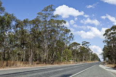 QLD Country Road Stock Photo