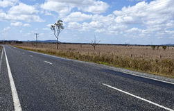 QLD Country Road Stock Photos