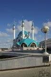 Qol谢里夫清真寺在喀山克里姆林宫,鞑靼斯坦共和国,俄罗斯 库存图片