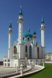 Qol谢里夫清真寺在喀山克里姆林宫,鞑靼斯坦共和国,俄罗斯 库存照片