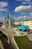 Qol谢里夫清真寺在喀山克里姆林宫 库存图片