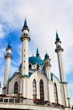 Qol Šärif Mosque in Kazan stock image