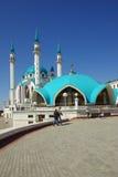 Qol Sharif meczet w Kazan Kremlin Zdjęcie Stock
