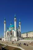 Qol Sharif meczet w Kazan Kremlin Zdjęcia Stock
