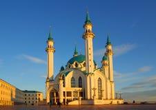 Qol Sharif meczet w Kazan Kremlin Fotografia Stock
