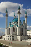 Qol Sharif meczet w Kazan Kremlin, Tatarstan, Rosja Zdjęcia Royalty Free